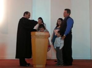 Yeniset baptism