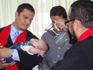 bautismo de infantes